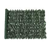 Tapis de panneau de jardin de clôture de mur d'herbe de feuillage de plante verticale artificielle 100x250cm