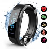 ELEGIANT C11 0.87inch Smart Watch Waterproof bluetooth USB Rechargeable Touch Fitness Tracker 3 Sport Modes Wristband