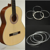 6szt Nylon String Silver Strings Gauge Set For Classical Acoustic Guitar