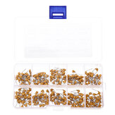 300 Pcs 10PF- 100NF Monolithic Capacitor Set External Single Electronic Kit with Box