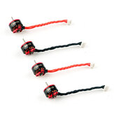 Eachine SE0802 0802 19000KV 1S Brushless Motor w/ 40mm Wire 2 CW & 2 CCW for Mobula6 Beta75 Whoop RC Drone FPV Racing