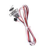 1/5 Sæt Mekanisk Endstop Limit Switch Module med 1m Cable for Reprap Ramps 1.4 3D Printer Del
