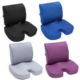 Memory Foam Seat Cushion Orthopedic Coccyx Protection Car Chair Backrest Waist Pad Pain Relief Massage Hip Cushio