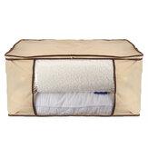 Zips Loft Loft Underbed Towel وسادة وسادة الملابس الفراش لحاف أكياس التخزين