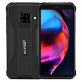 Blackview BV5100 Bande globali IP68 e IP69K 5,7 pollici HD + 4 GB 128 GB NFC Android 10 5580 mAh Ricarica wireless MT6762V Octa Core 4G Smartphone