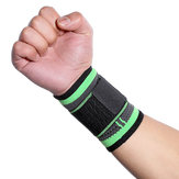 KALOAD 1PC Dacron Adults Wrist Support Outdoor Sports Bracers Bandage Wrap Fitness Protective Gear