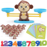 Monkey Digital Balance Toys Set Digital Letter Balance Arithmetic Strengthen Game Intellgence Developing Desktop Game For Children