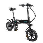 [EUDirect]FIIDOD110.4Ah36V 250W 14 tum Fällbar mopedcykel 25km / h Max 60KM Miltal Electric Bike