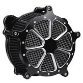 Black Air Cleaner Intake Filter System voor Harley Softail Touring Dyna