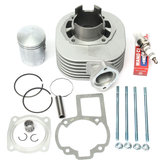 Cilinder Zuiger Kit Pakking Ringen Top End Set Voor SUZUKI LT 80 LT80 1987-2006