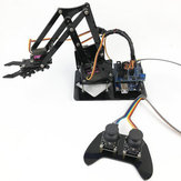 4DOF Robot Arm with التحكم عن بعد مراقبة PS2 Self-Assemble with MG90s Servo for UN R3 Programming