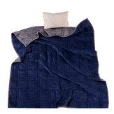 HONGYIYU 22-01 بطانية مرجحة قطن ممتاز قابل للتنفس للكبار تخفيف الضغط ينام Aid