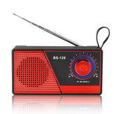 ポータブルミニFMラジオブルートゥース4.2ワイヤレススピーカーUSB TFカードラジオスピーカー
