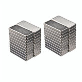 40pcs N35 Strong Block Magnet Rare Earth Neodymium 15mmx6.5mmx2mm