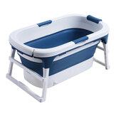 111 * 63 * 55cm grande baignoire pliante profonde adultes baignoire enfants baignoire avec couvercle