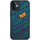 Nillkin for iPhone 12 Mini Case Fashion Sport 3D Texture Embossment TPU + PC Shockproof Anti-Fingerprint Protective Case Back Cover