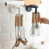 Przybory kuchenne Stojak bez dziurkowania Ścienna szpatułka Łyżka Regał do przechowywania Dostaw do kuchni Regał do przechowywania