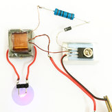 10StksInverterBoostHogedrukGenerator Arc Ontsteking Lichter Coil Module Elektronische DIY Productie Kit
