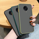 Bakeey for Xiaomi Poco F2 Pro Case Armor Shockproof Anti-fingerprint Matte Translucent Hard PC&Soft TPU Edge Protective Case