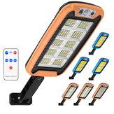 COB LED Solar Aplique de calle PIR Motion Sensor Regulable Lámpara al aire libre Jardín