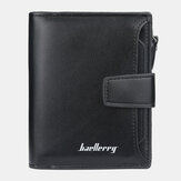 Baellerry Men Faux Leather Short Wallet Card Holder Coin Bag