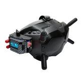 URUAV 5.8G RX PORT 3.0-PLUS DJI Digitale FPV-Brille Niederspannungs-Alarmsimulationsempfängerplatine + Metalladapter-Montagekombination für DJI Fatshark FPV-Brille