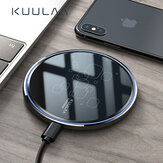 KUULAA 15W Qi Wireless Charger 15W Wireless Charging Pad For iPhone XS XR 11Pro Mi10 Note 9S S20+ Note 20