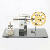 Mini Hot Air Stirling Motor Modelo Motor Modelo DIY Juguete de ciencia