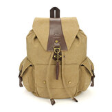 Casual Vintage Męskie Plecaki Canvas Women Backpack School Bags