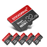 StickDrive 64GB 128GB Karta pamięci TF Class 10 High Speed z adapterem do telefonu komórkowego na iPhone 12 dla Samsung Galaxy S21 Huawei Poco X3 NFC