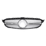 Diamond Front Grill Grille For Mercedes Benz C Class W205 C200 C300 C250 2019 ON