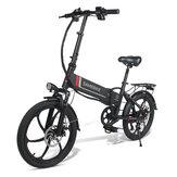 SAMEBIKE 20LVXD30 10.4Ah 48V 350W 20 en bicicleta eléctrica plegable 35 km / h Velocidad máxima 80 km Kilometraje Carga máxima 120 kg Bicicleta eléctrica Bicicleta de ciudad