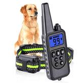 3طرقالكلبالياقاتسدادةالتدريب الياقات مع التحكم عن بعد مراقبة USB قابلة للشحن كلب الصيد الكلب الياقات مكافحة النباح