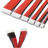 Lipo Battery Charger Silicone Wire Balance Extension Cable 2S 3Pin 3S 4Pin 4S 5Pin 6S 7Pin 8S 9Pin 2.54XH 30cm