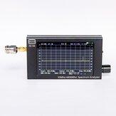 Analizador de espectro portátil GS-100 de 35 MHz a 4400 MHz de tercera generación con pantalla de color LCD TFT LCD (480 * 800) de 4,3 pulgadas
