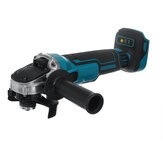 Drillpro 388VF 100mm/125mm Brushless Angle Grinder Rechargeable Electric Cutting Grinding Tool W/ 1/2 Battery