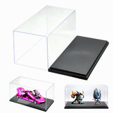 Clear Acrylic Plastic Display Box Case Protector Toys Dustproof Big Size 26cm