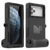 SHELLBOX Evrensel 15M Su Geçirmez Telefon Kılıf Sualtı Dalış Telefon Kılıfı Samsung için iPhone için 4.7-6.7 inç Akıllı Telefon