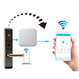 Portable Door Lock Gateway WIFI APP Internet Smart Remote Control Lock Gateway