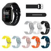 Soft سيليكون Watch حزام Watch حزام لـ Haylou LS02 BW-HL1 BW-HL2 BW-HL1T BW-HL1Pro