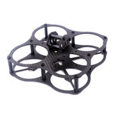 T40 UFO 78mm Carbon Fiber Mini FPV Racing Frame Freestyle True X Frame Kit 15g Only