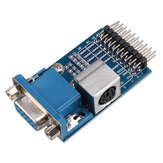 Waveshare® VGA to PS2 Module Test Module Adapter Development Board Converter Board
