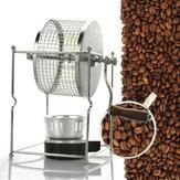 304 roestvrij staal handmatige koffieboon braadmachine Roaster Roller Baker keuken baktool