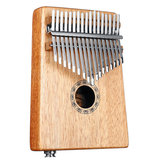 17 toetsen EQ C Tone Mahogany Kalimba Thumb Piano Finger Percussion with Pickup