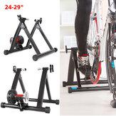 24-29 `` Bisiklet Eğitmeni Standı Ev Kapalı Bisiklet Eğitmeni Silindir Egzersiz Aletler Fitnes Standı