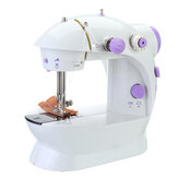 Portable Sewing Machine Mini With Lamp Thread Cutter Extension Table Electric Sewing Machines DIY Embroidery Machine
