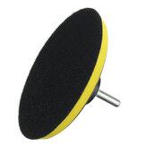 6Pcs 4/5/6/7Inch Car Polishing Disc Self-adhesive Polishing Wax Sponge Wheel Wool Pad
