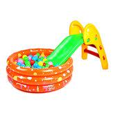 Enfant pliant petit toboggan glissant vers le haut et vers le bas comme le pliage diapositive seule diapositive glissante jouet