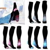 Rodilla Calcetín Deporte de fútbol calcetines Compatibilidad con estiramiento de piernas Compresión calcetines Active Escuela Equipo calcetines