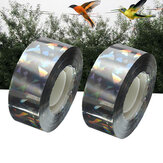 90M Bird Deterrent Tape Audible Visual Flash Pigeon Scare Ribbon Decoratieve tape